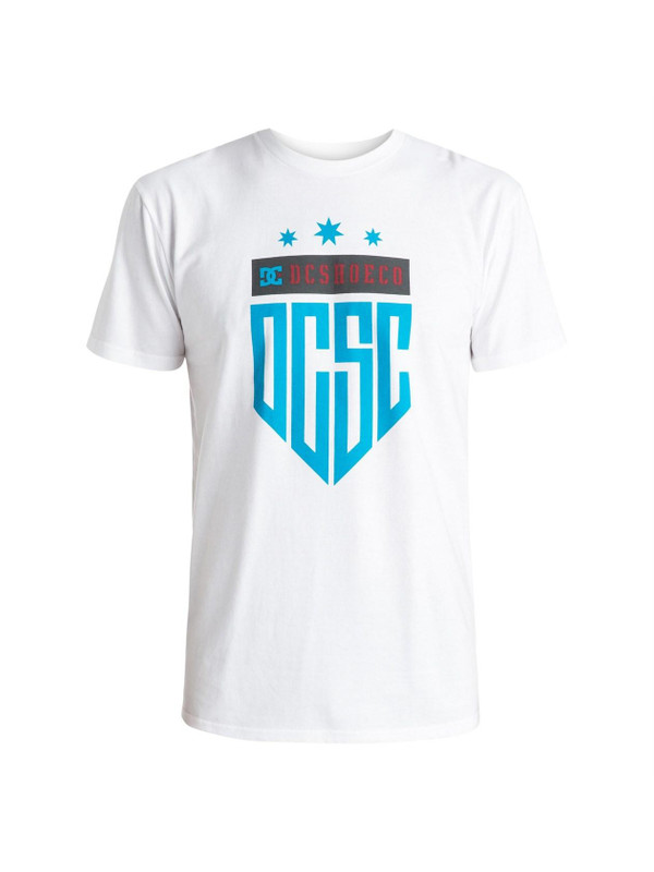 DC Shoes Herren T-Shirt Champeon (White) 001