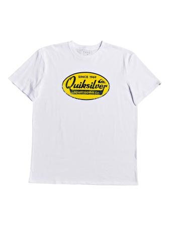Quiksilver Herren T-Shirt Whatwedobestss M (White) – Bild 1
