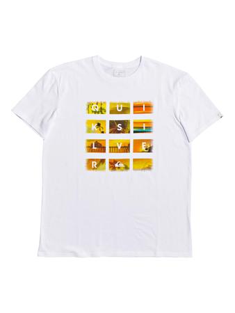 Quiksilver Herren T-Shirt PHOTOPRINT SPORTLINE (White) – Bild 1