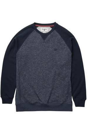 Billabong Herren Sweatshirt BALANCE CREW (Navy Heather)