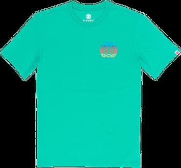 Element Herren T-Shirt Seal Gradient Ss (Mint) – Bild 1