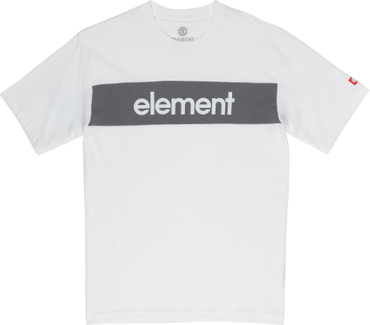 Element Herren T-Shirt Primo Flag Cr (Gargoyle)