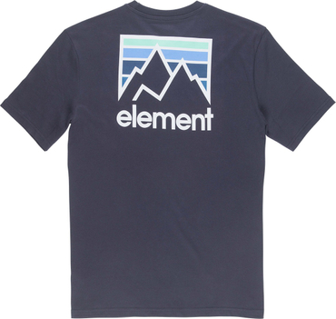 Element Herren T-Shirt Joint Ss (Eclipse Navy) – Bild 2