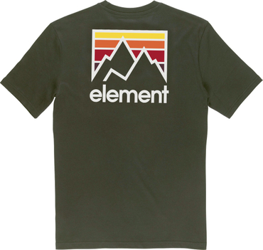 Element Herren T-Shirt Joint Ss (Forest Night) – Bild 2