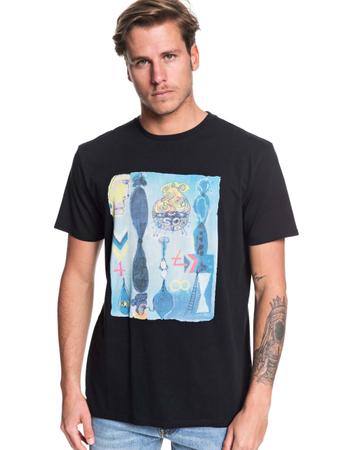Quiksilver Herren T-Shirt Art House (Black) – Bild 1