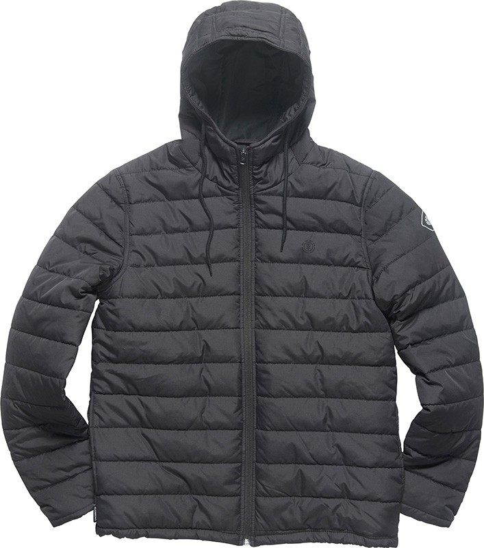 Element Herren Jacke HAYDEN (Flint Black) 001