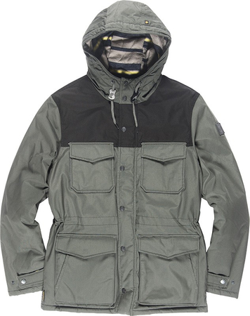Element Herren Jacke HEMLOCK (Stone Grey)