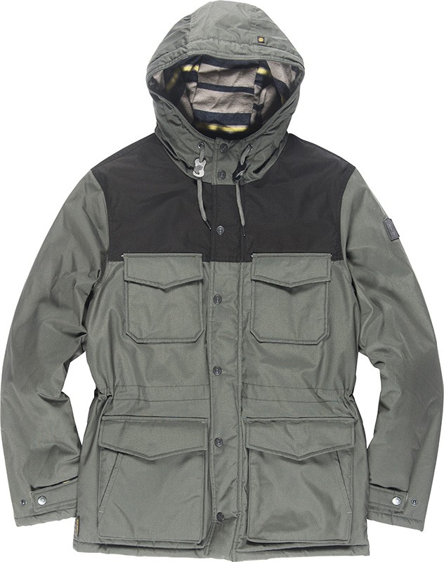 Element Herren Jacke HEMLOCK (Stone Grey) 001