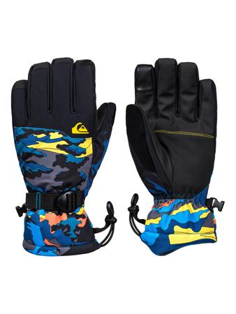 Quiksilver Herren Ski- & Snowboardhandschuhe Mission Glove (Sulphur Snowscene) – Bild 1