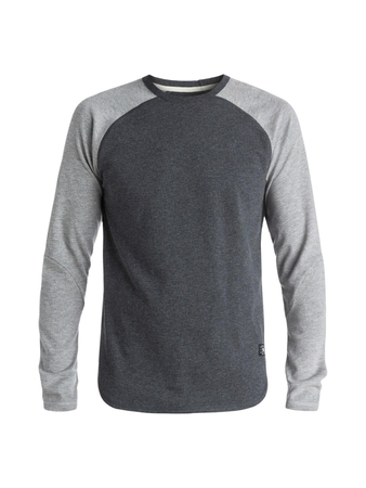 DC Shoes Herren Sweatshirt LUCKENWALD (Heather Charcoal)