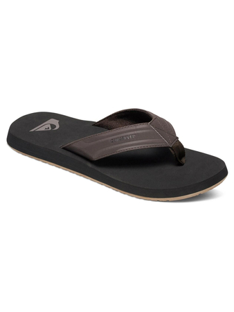 Quiksilver Herren Sandalen MONKEY WRENCH (Brown/Black/Brown)