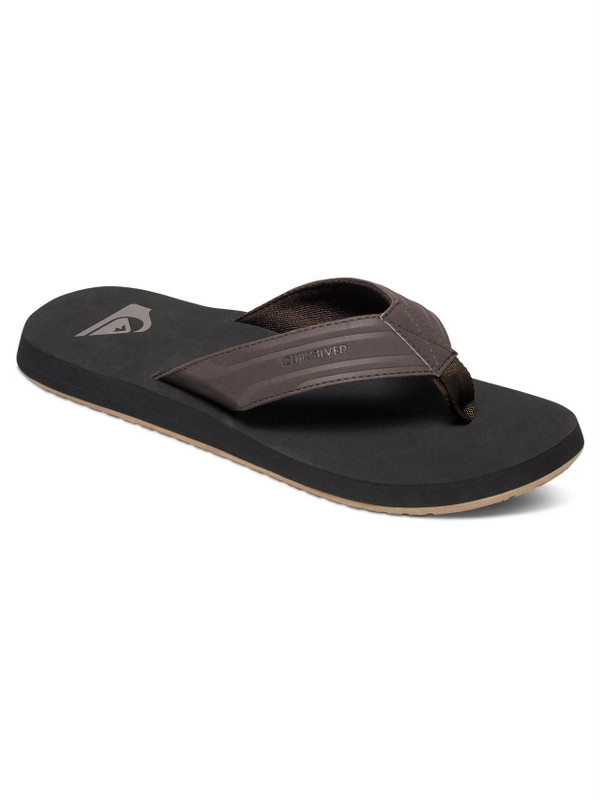 Quiksilver Herren Sandalen MONKEY WRENCH (Brown/Black/Brown) 001