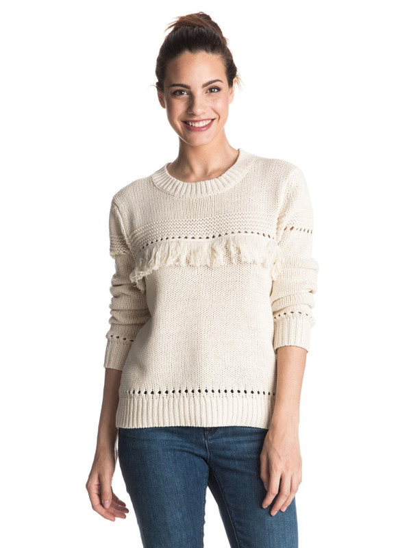 Roxy Damen Sweater COVE (Angora) 001