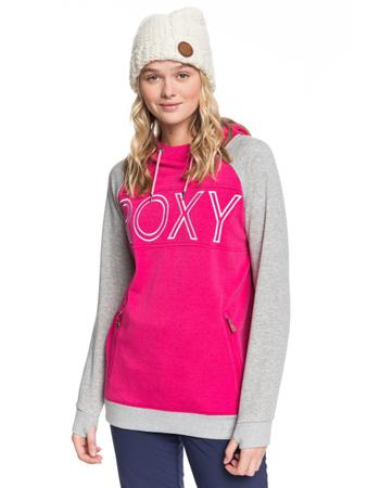 Roxy Damen Hoodie Liberty Hoodie (Beetroot Pink) – Bild 1