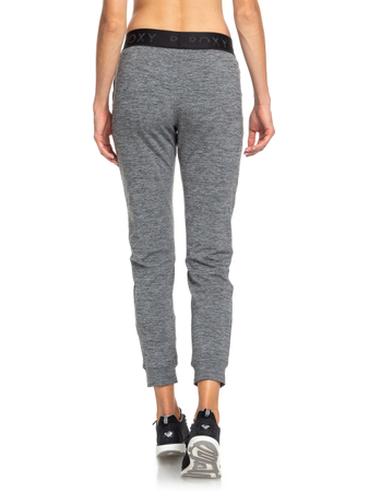 Roxy Damen Jogginghose Into The Spotlights (Charcoal Heather) – Bild 3