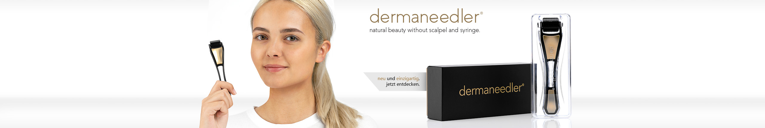 Dermaneedler - natural beauty without scalpel and syringe.