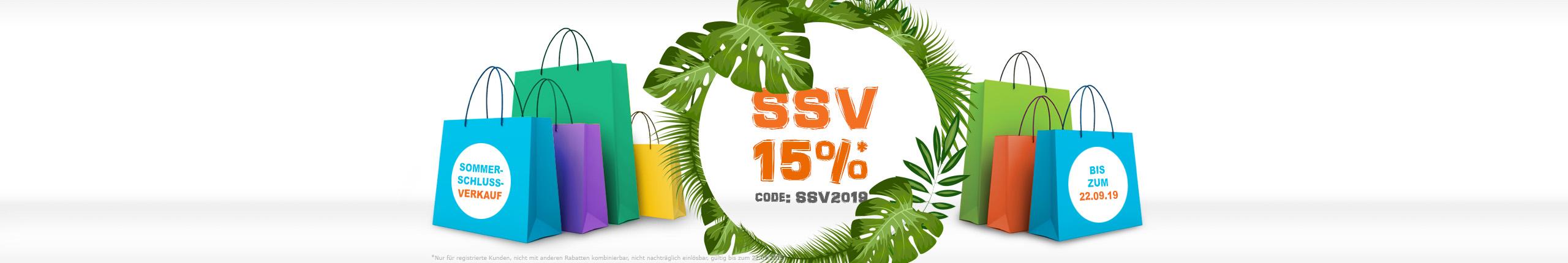Vitex-Shop Sommerschlussverkauf 2019