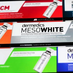 Dermedics MESO WHITE BB Glow Mesotherapie Serum, 10 x 5ml – Bild 3