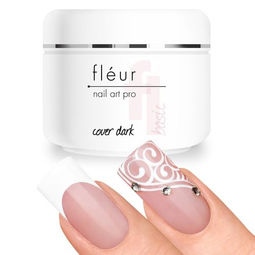 Fléur Basic UV Gel Cover Dark / Camouflage Gel 15g