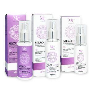 Belita MEZOcomplex Anti-Aging Hautpflege-Set 30+, 130ml – Bild 1