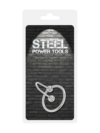 Steel Power Tools: Eichelring mit Spermastopper (28mm)