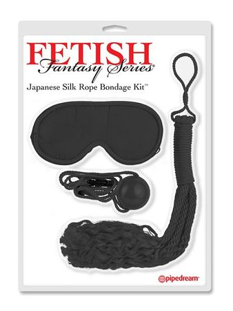 Fetish Fantasy Japanese Silk Rope Bondage Kit