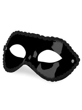 Ouch! Partymaske, schwarz