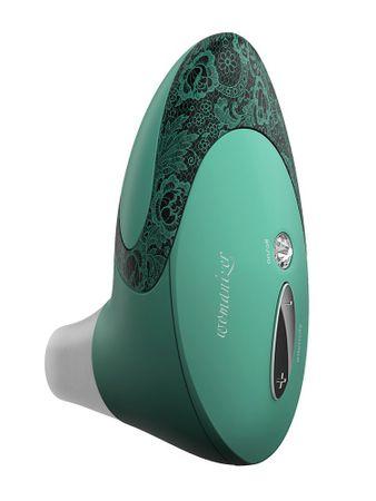 Womanizer Geschenkbox: Womanizer Pro W500 mint/lace + Gleitgel + 5 Ersatzköpfe