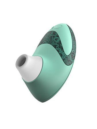 Womanizer Geschenkset: Womanizer Pro W500 mint + Gleitgel + 5 Ersatzköpfe