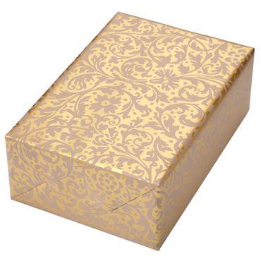 Geschenkpapier Set Brokat gold + Naxos – Bild 2