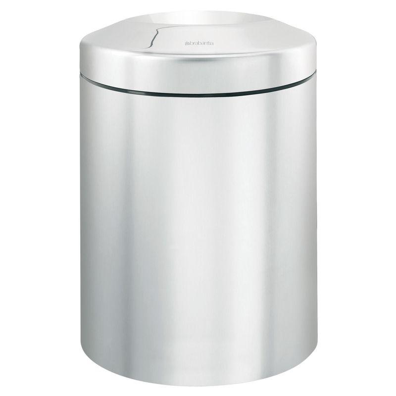 Brabantia Papierkorb Le Tube Mülleimer Abfalleimer Papierkorb Edelstahl 15 Liter