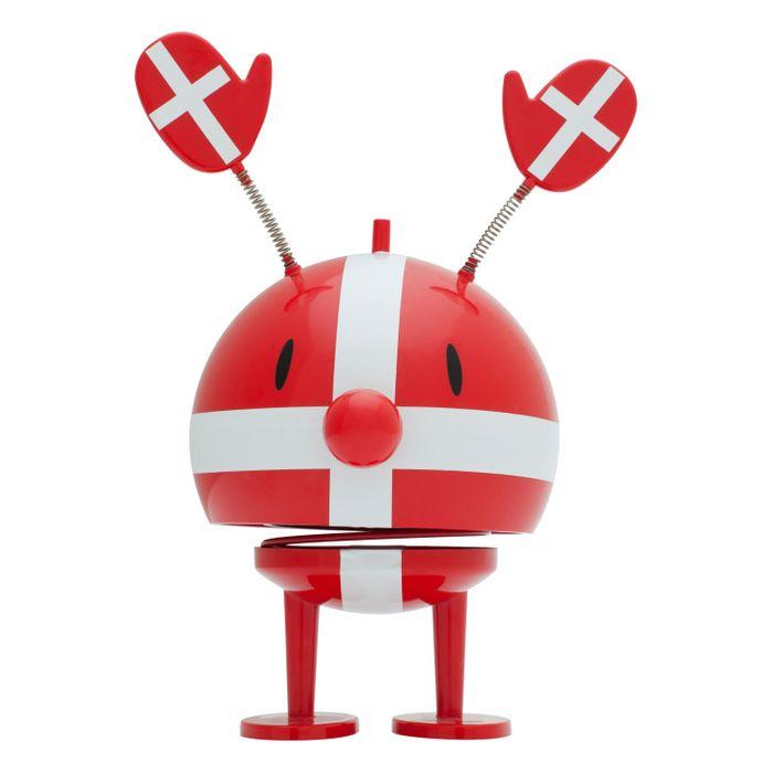 Spielidee Kunststoff Rot Hoptimist Rooligan Wackelfigur Fußball Figur Deko-