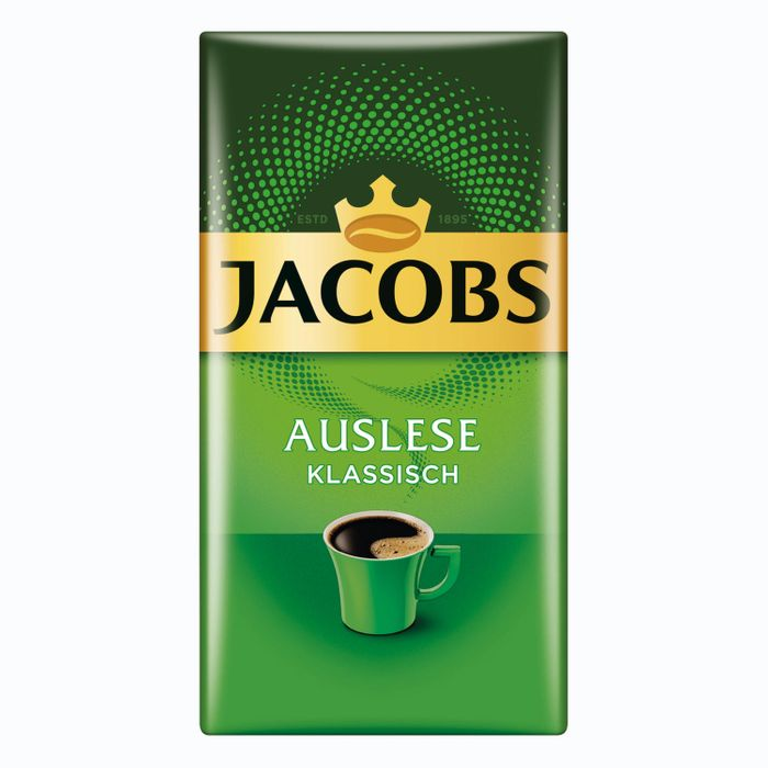 Jacobs Auslese Klassisch Gemahlen, gemahlener Röstkaffee, Filterkaffee, Kaffee, 500 g