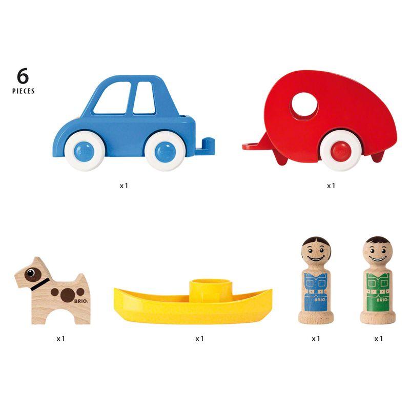Camping Auto Holzspielzeug, Spielzeug aus Holz kaufen