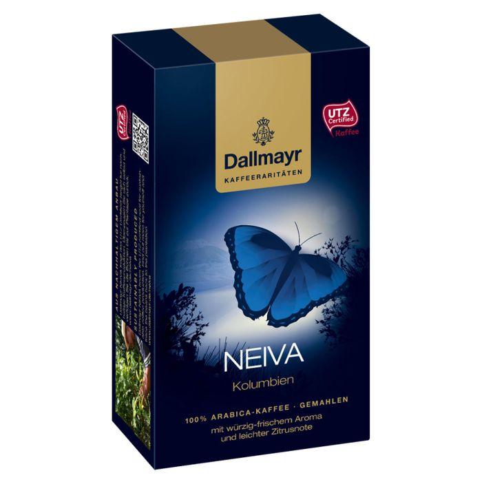 Dallmayr Neiva Kolumbien, Kaffee Raritäten, Gemahlener Röstkaffee, Würzig mit Zitrusnote, 6 x 250 g
