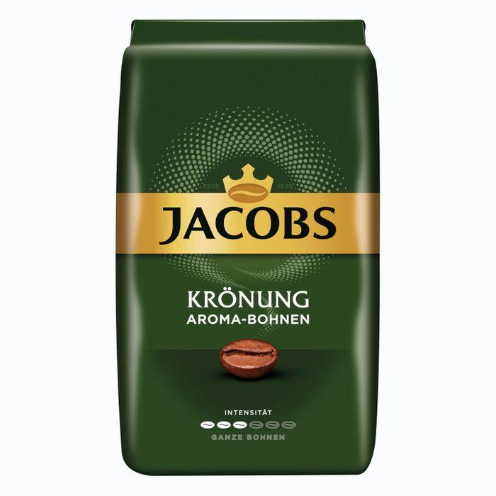 Jacobs Krönung Aroma Bohnen, Bohnenkaffee, ganze Bohnen, Kaffeebohnen, Kaffee, 12 x 500 g