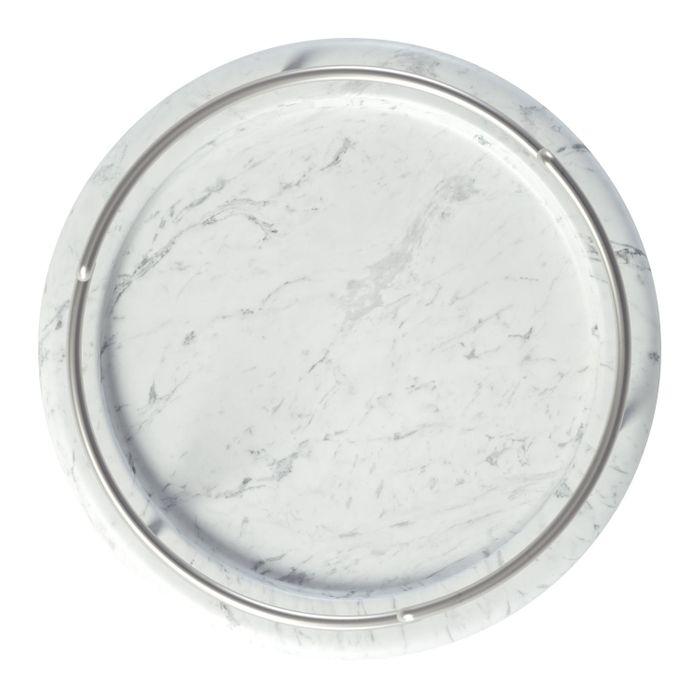 Umbra Tesora Schmuckständer Schmuckhalter Schmuckaufbewahrung Resin Weiß//Nickel