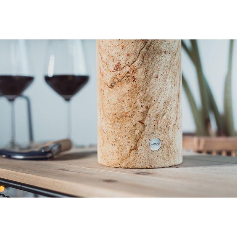 11,5 cm Ø Doppelwand Kunststoff Kühler Weinkühler 6 Stück Flaschenkühler