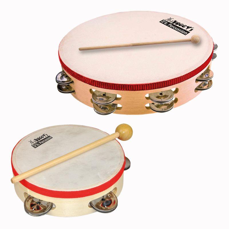 Voggenreiter Voggys Schellenkranz Schellenring Tamburin Percussion Instrument