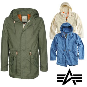 Alpha Industries Jacke Light Weight Fishtail 001