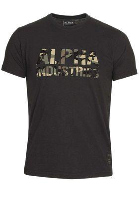 Alpha Industries T-Shirt Camo Print T 008