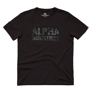 Alpha Industries T-Shirt Camo Print T 002