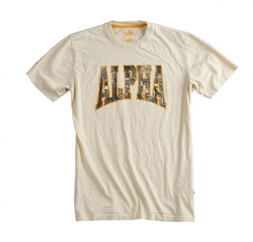 Alpha Industries T-Shirt Photo Print T 002