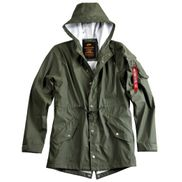 Dresscode Shop Alpha Industries Herren Jacke Fishtail Raincoat 01