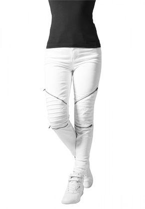 Urban Classics Damen Jeans Stretch Biker Pants 005
