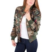 Dresscode Shop Alpha Industries Damen Jacke MA-1 SF Wmn 06
