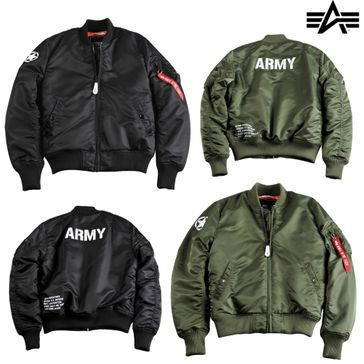 Alpha Industries Jacke MA-1 VF Army 001