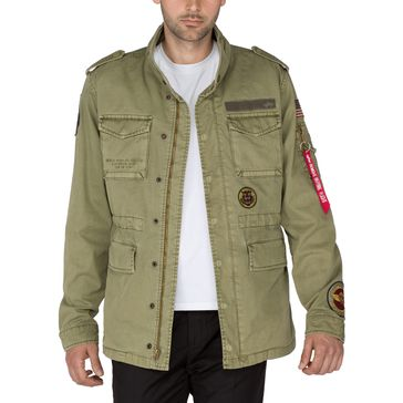 Alpha Industries Jacke Huntington Patch 002
