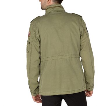 Alpha Industries Jacke Huntington Patch 006