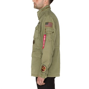 Alpha Industries Jacke Huntington Patch 005